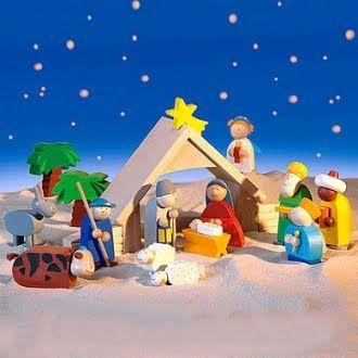 Creche De Noel Enfant Des idées pour une crèche de Noël pour enfants? (avec images