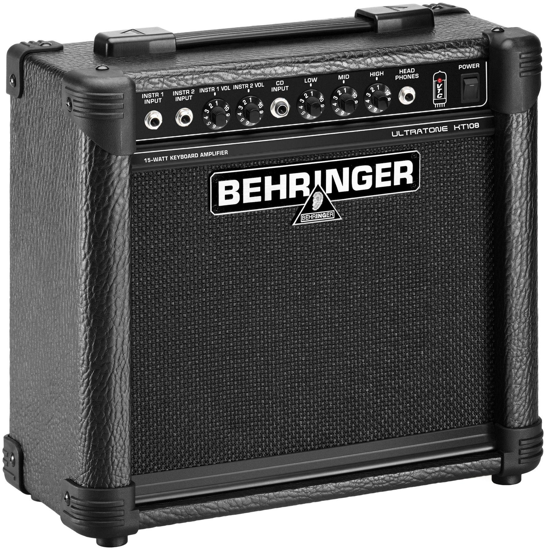 Behringer Ultratone Kt108 15w 8 Keyboard Amp