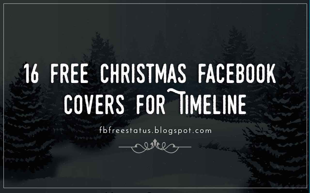16 Free Christmas Cover Photo For Facebook Timeline | Christmas ...