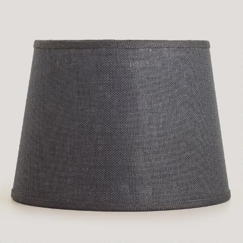 One of my favorite discoveries at worldmarket gray burlap table one of my favorite discoveries at worldmarket gray burlap table lamp shade aloadofball Choice Image