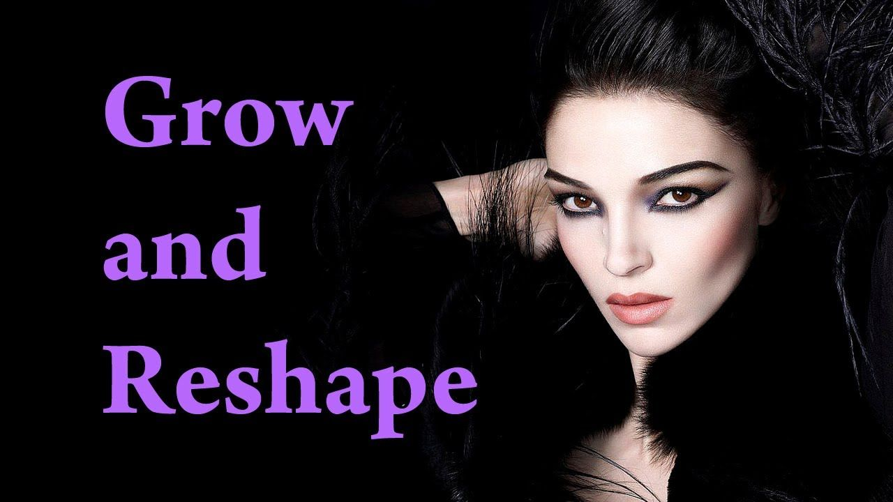 How to GROW and RESHAPE Eyebrows Makeup Video Tutorial ...