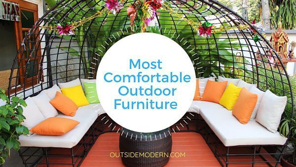 What is the Most Comfortable Outdoor Furniture - #Comfortable #Furniture #Outdoor #resinpatiofurniture