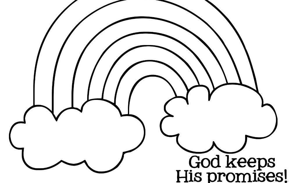 Printable Rainbow Coloring Pages For Kids Thoughtfulcardsender Rainbow With Clouds And Sun Colo In 2020 Coloring Pictures For Kids Coloring Pages Nature Rainbow Kids
