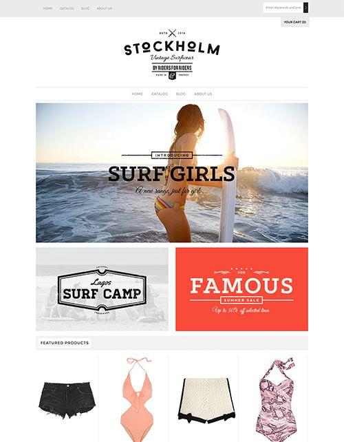Envy Shopify Theme | Deceptor Lures | Free website templates