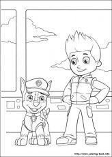 Chase And Ryder Paw Patroller Paw Patrol Coloring Pages Paw Patrol Coloring Pages Paw Patrol Coloring Coloring Books