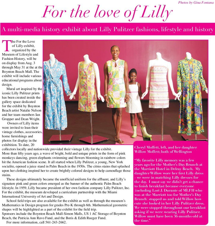 A little Lilly history | Lilly Pulitzer | Pinterest