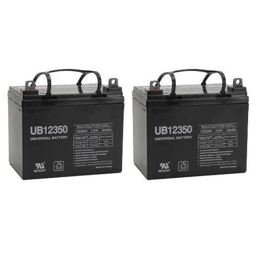 12V 35Ah U1 Hoveround MPV1, MPV2, MPV3, MPV4, MPV5 Battery - 2 Pack