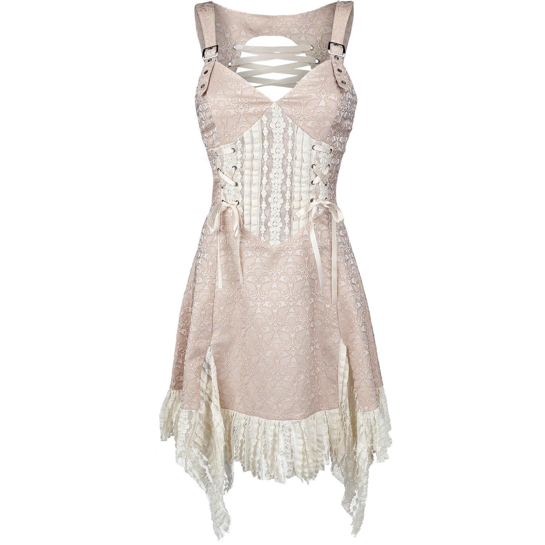 Jawbreaker  Mittellanges Kleid  »Victoriana« | Jetzt bei EMP kaufen | Mehr Rockwear  Mittellange Kleider  online verfügbar ✓ Unschlagbar günstig!