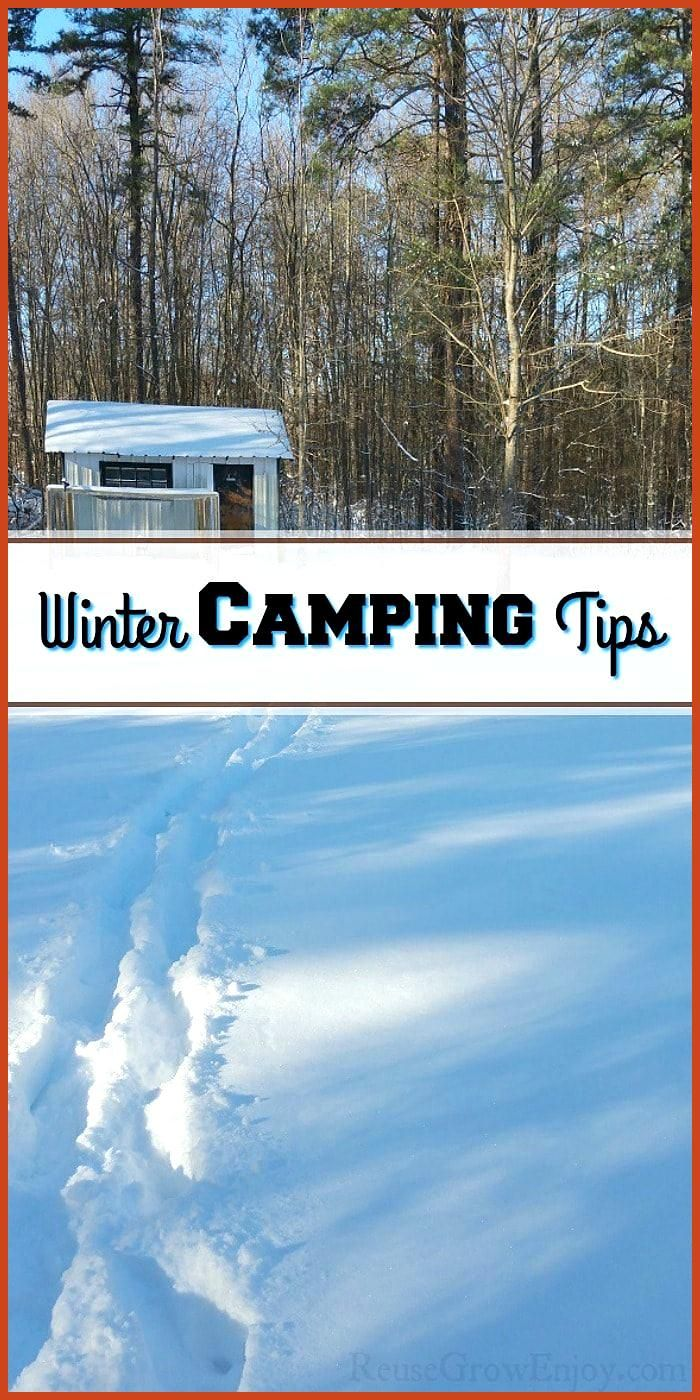 While many campers tend to think of the spring summer and fall months as the best time to camp don