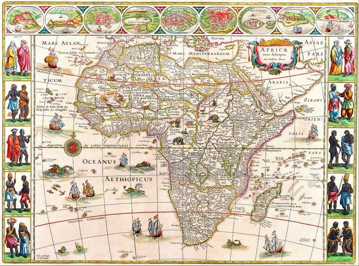 Pin by Mischalar Edward Broman-Foss on Maps - old and new Pinterest - new world map of africa