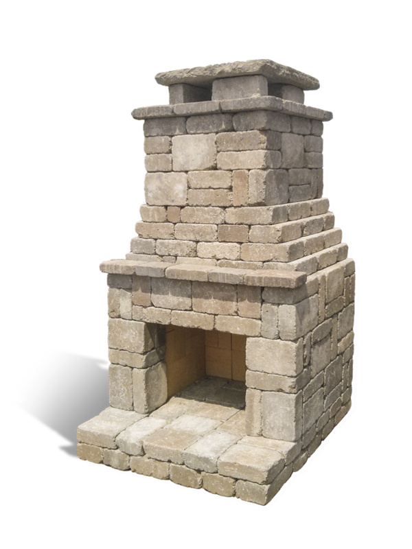 Fremont Outdoor Fireplace Kit Diy Brick Stone Plans Pinterest Fireplace Kits Patios And