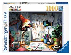 The Artist's Desk jigsaw puzzle