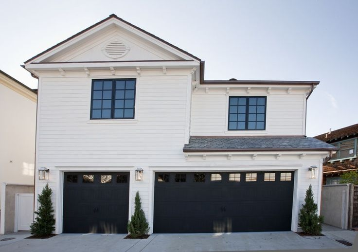 Brilliant Black Garage Doors White House 87 For With Black Garage
