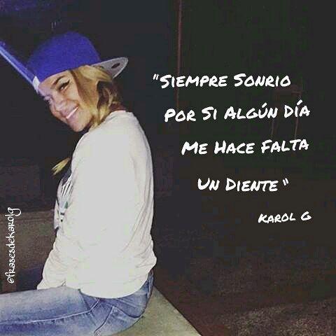 Frases De Karol G Frasesdekarolg Instagram Photos And Videos Frases De Canciones Reggaeton Frases De Cantantes Frases De Anuel