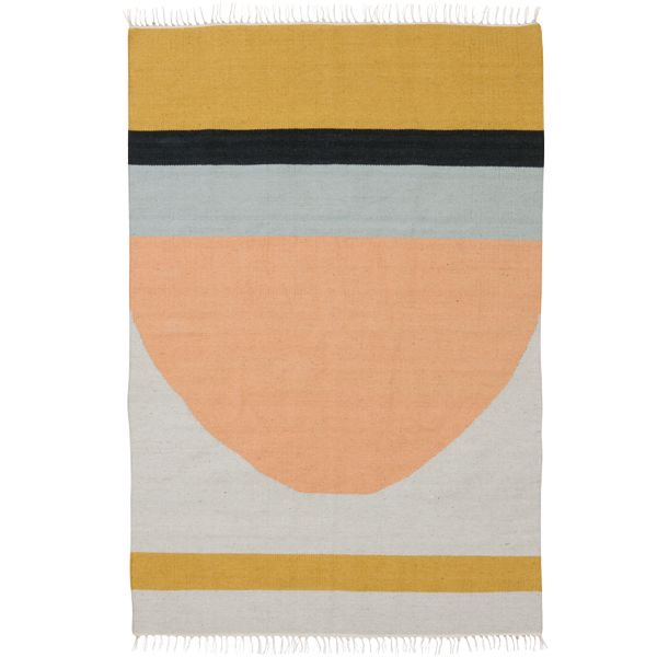 Kelim Carpet Semicircle Large By Ferm Living