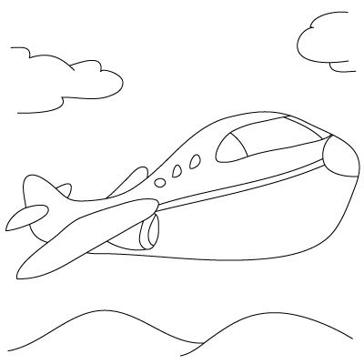 want to learn how to draw an aeroplane follow our simple step by