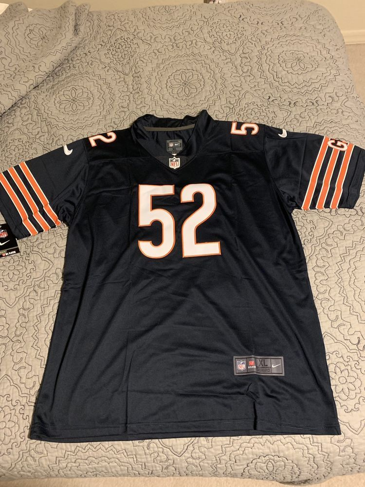 Khalil Mack Chicago Bears Nike Jersey Men s XL New With Tags Sewn On NFL    24.99 59b2c9926