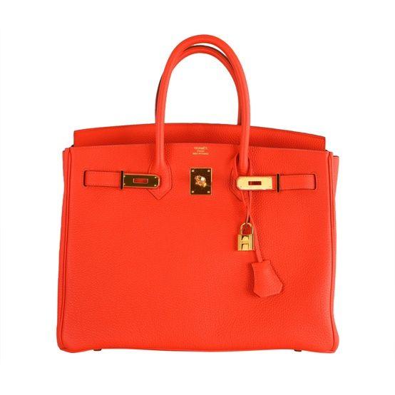 Hermes - HERMES BIRKIN BAG - Click image to find more Women's Fashion Pinterest pins