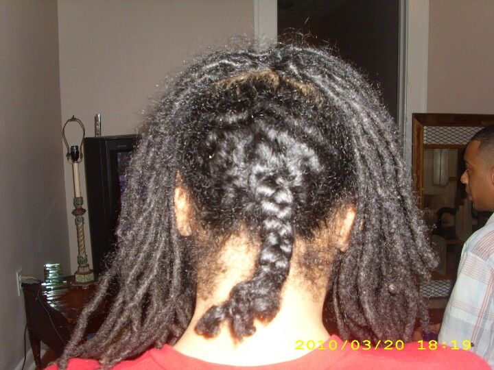 Combing Out My Daughter S Nellie B Locs Halfway Done