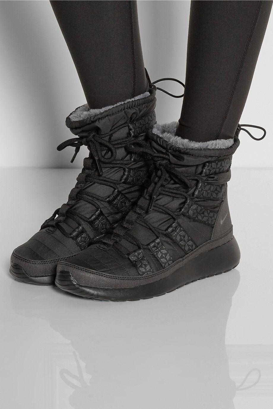 the best attitude d66a8 8a84c ... Nike   Roshe Run Hi shell sneaker-style boots   NET-A-PORTER ...