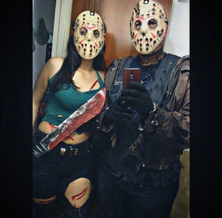 Halloween Jason.Family Voorhees Jason Voorhees 13 Friday Costume Couple