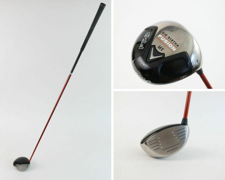 Callaway Big Bertha Fusion Ft 3 Ht Draw Right H Driver Aldila Nvs 55 A Golf Club Callaway Golf Clubs Golf Club