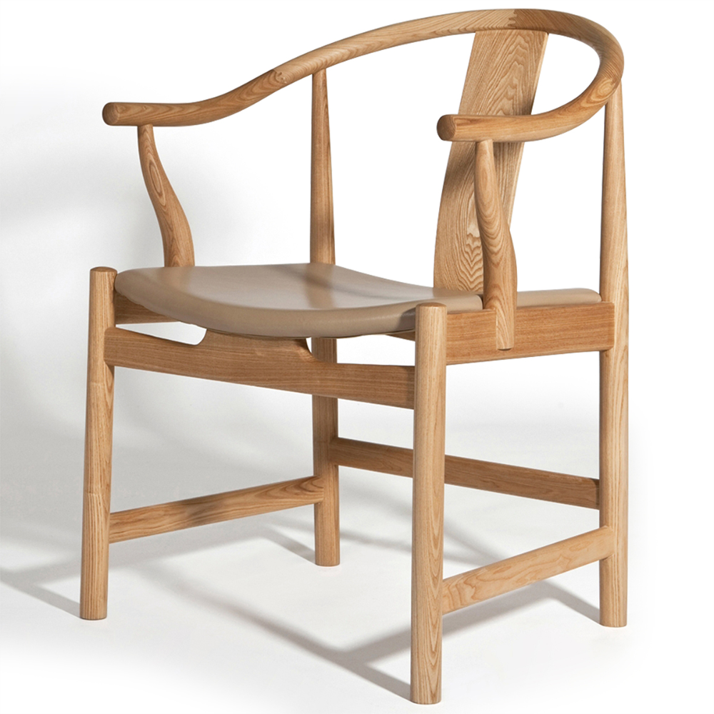 Best Hans Wegner China Chair In 2020 White Leather Dining 400 x 300