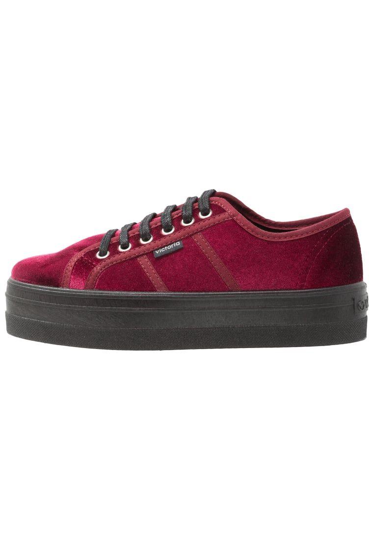 Victoria Shoes Zapatillas burdeos Gyx1ocqS