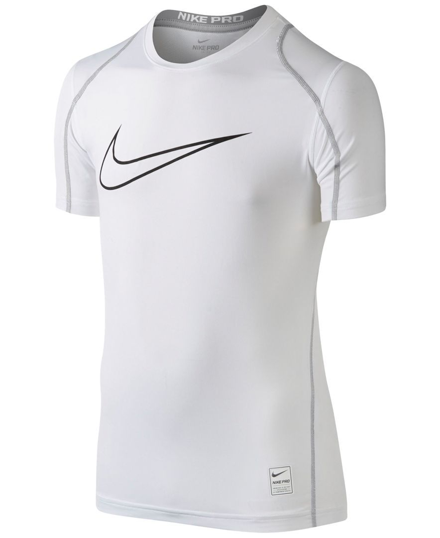 0c1c70d9 Nike Boys' Pro Cool Hbr Fitted Logo Tee | Products | Nike pro cool ...