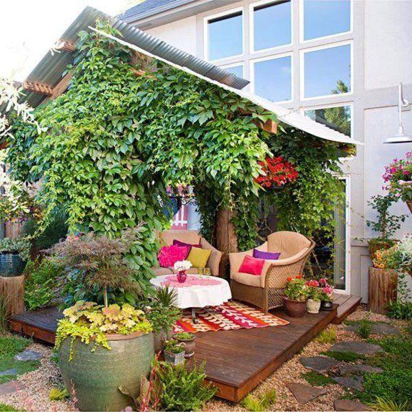 ▷ 1001 Gartenideen für kleine Gärten - tolle Designvorschläge - kleine garten gestalten bilder