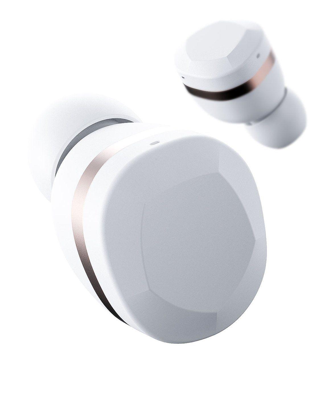 6ae9e014968 YEVO 1 in Ivory White, the future of Headphones. A true wireless headphone  designed in Sweden. | YEVO Labs | Wireless headphones, Innovation lab,  Headphones