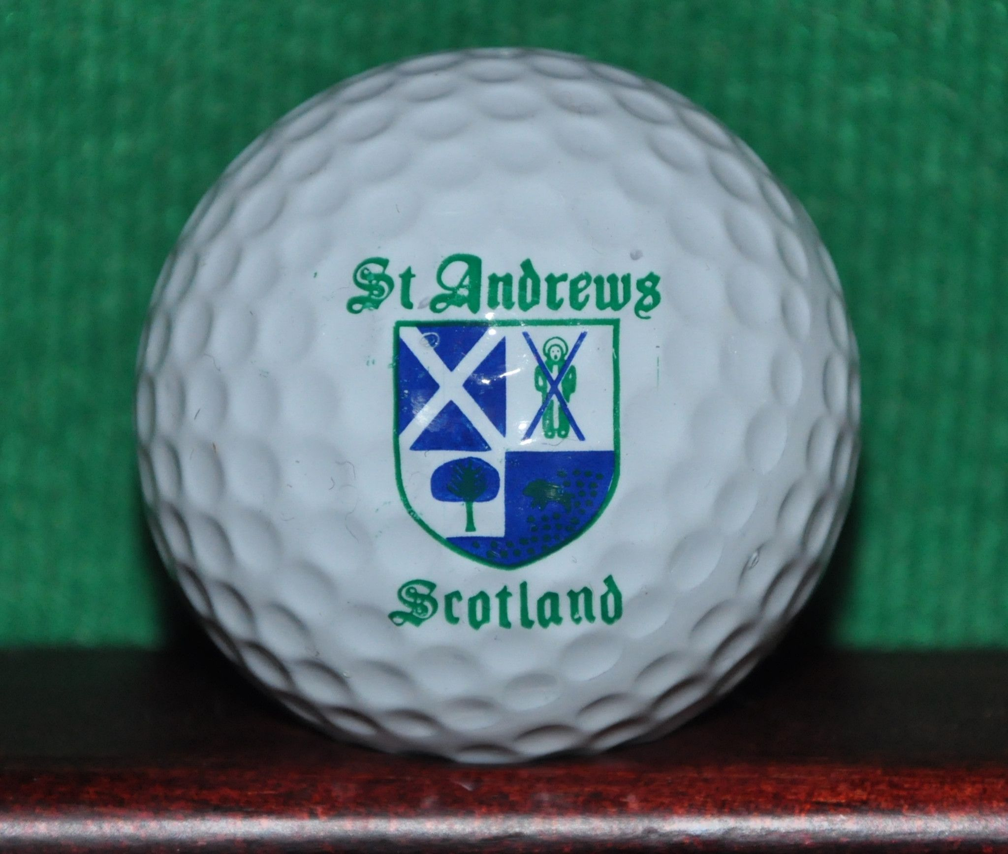 Vintage Royal And Ancient Golf Club Of St Andrews Scotland Logo Golf Ball Golf Ball Golf Ball