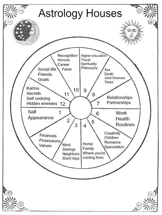 We Re Moving On To The Astrological Houses In This Lesson Of Star School The 12 Astrological Houses Astrology Numerology Learn Astrology Birth Chart Astrology