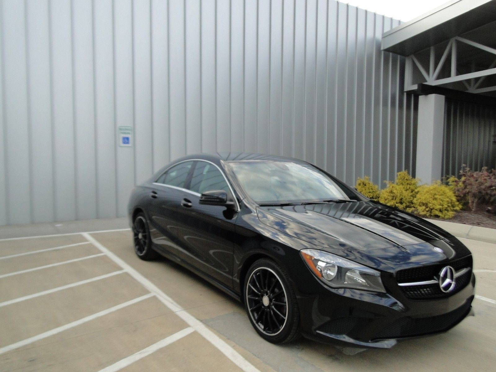 2014 Mercedes Benz Cla Class 250 2014 Mercedes Cla 250 Black Over