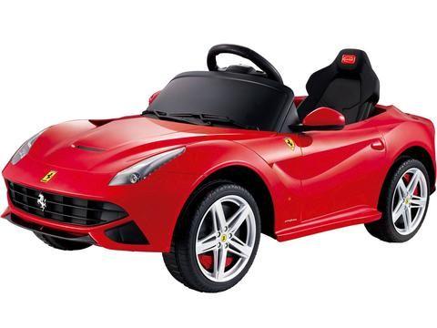 ferrari f12 berlinetta one seater kids ride on car 12v battery power wheels with parental