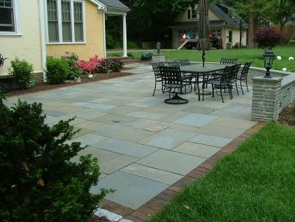 front patio ideas - Brick Stone Patio Designs