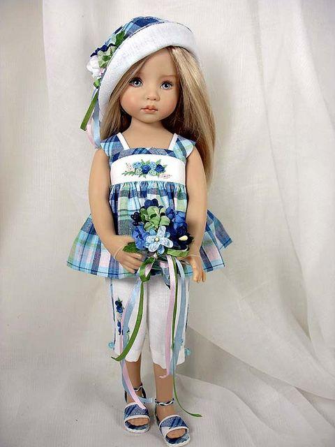 Summer BLUE - ems - for Effner Little Darlings by Dress*Ups by pj, via Flickr