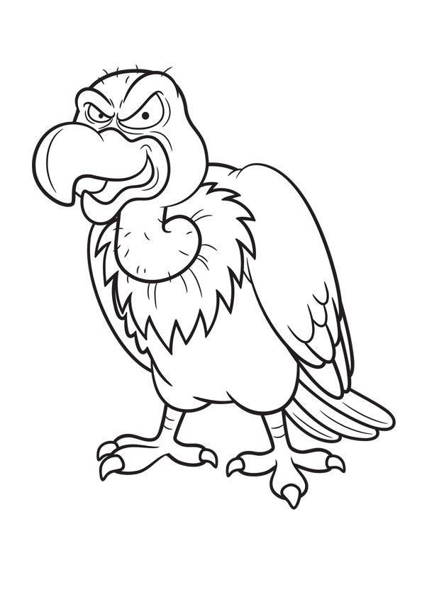 Pin By Madel On Geier Malvorlagen Animal Line Drawings Animal Drawings Bird Drawings