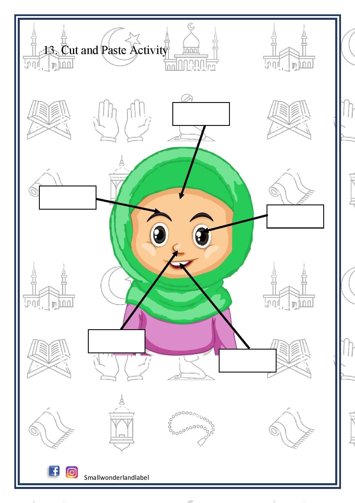 Pin On Ramadan Activity For Kids