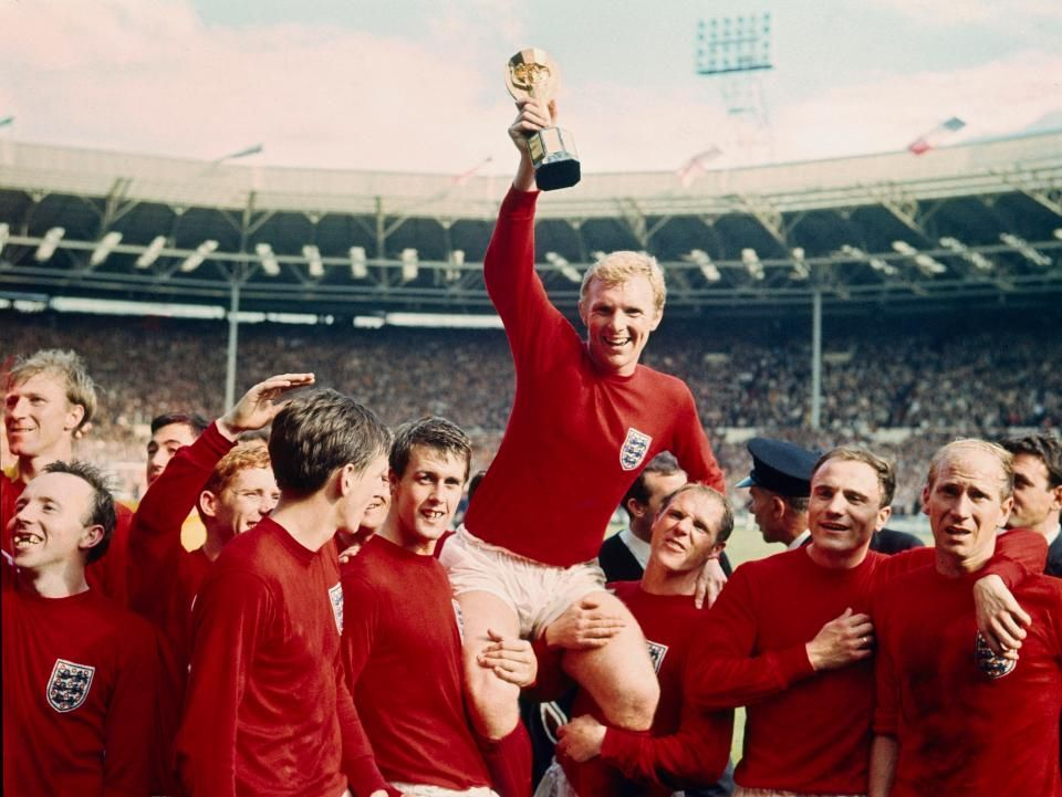 Get In The Know On England Legend Bobby Moore Featured In Itv S Tina Bobby World Cup Final 1966 World Cup Final 1966 World Cup