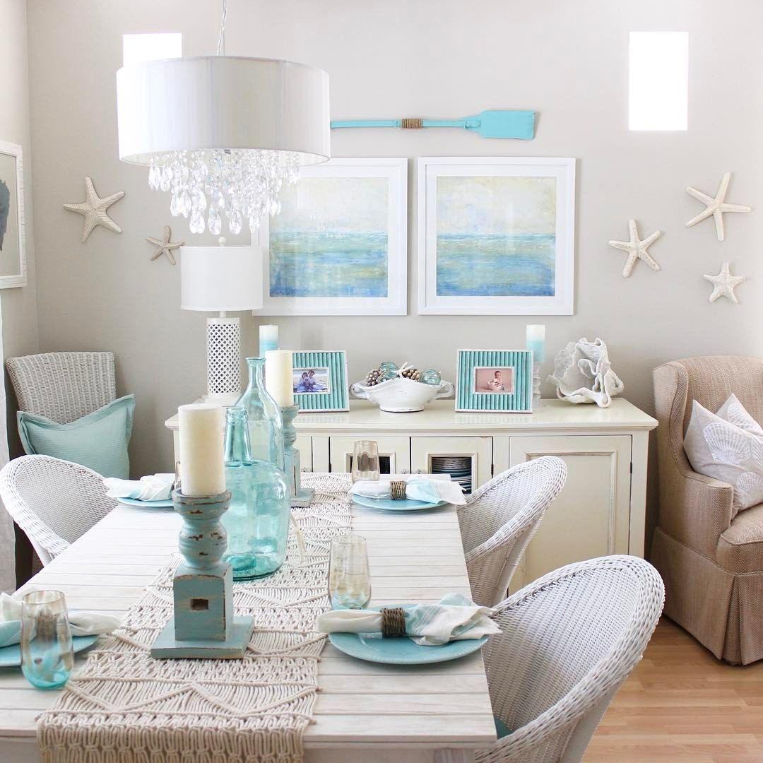 Beach Chic Coastal Cottage Home Tour With Breezy Design: Pin De Breezy Designs En Beach Chic Design! En 2019