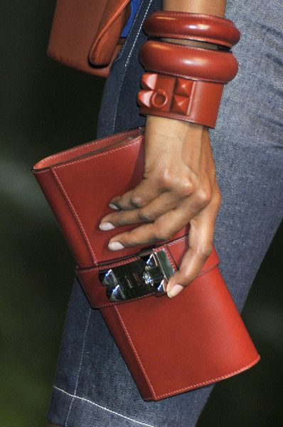 """Hermès Medor Clutch,"" fabulous accessory action via another board member!"