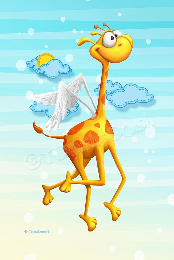 Fly Giraffe fly by Tooshtoosh on deviantART