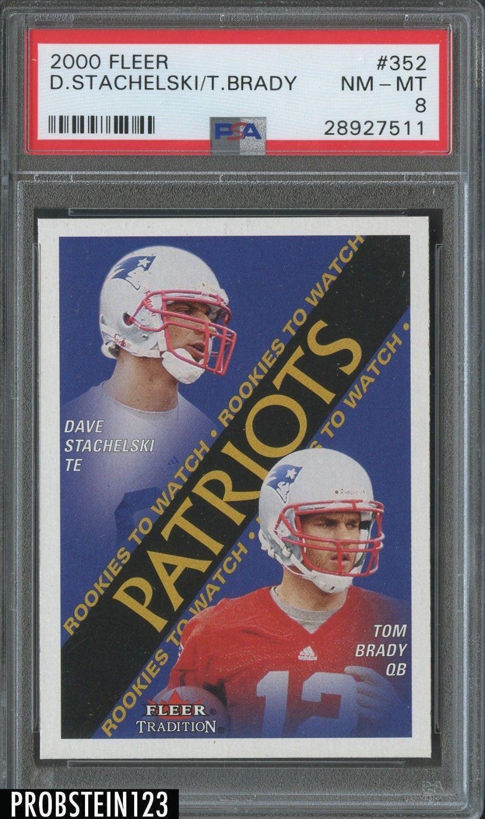 Pin By Francis Chevalier On Cartes De Football In 2020 Tom Brady Tom Brady News Football Cards