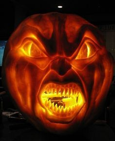 template 3d pumpkin carving stencils  Image result for complex pumpkin carving ideas | Scary ...