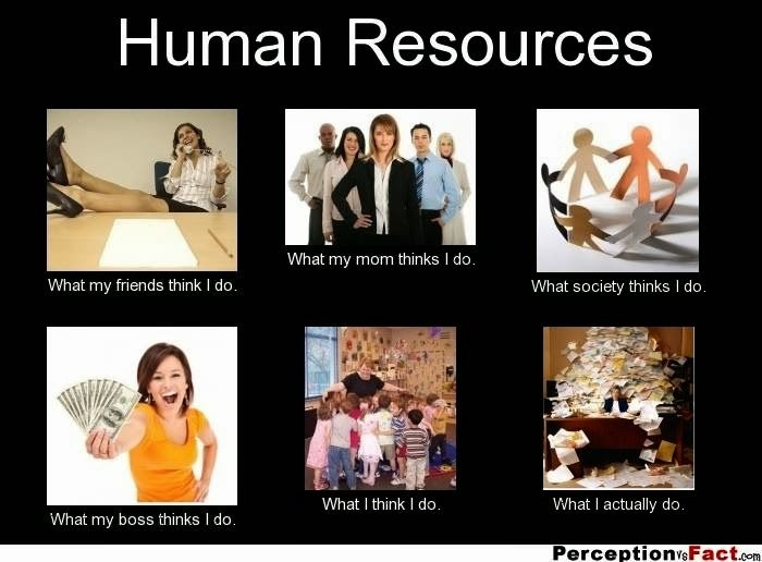 Meme Human Resources: Use Your Blinker: HR: Perceptions Versus Reality