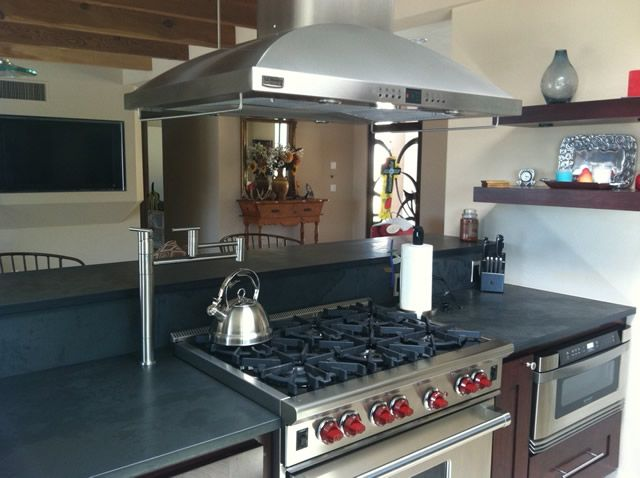 Marvelous Concrete Countertops By Rogou0027s Finishing Touch Tucson Concrete Floor  Refinishing Your Choice Of 1 1/