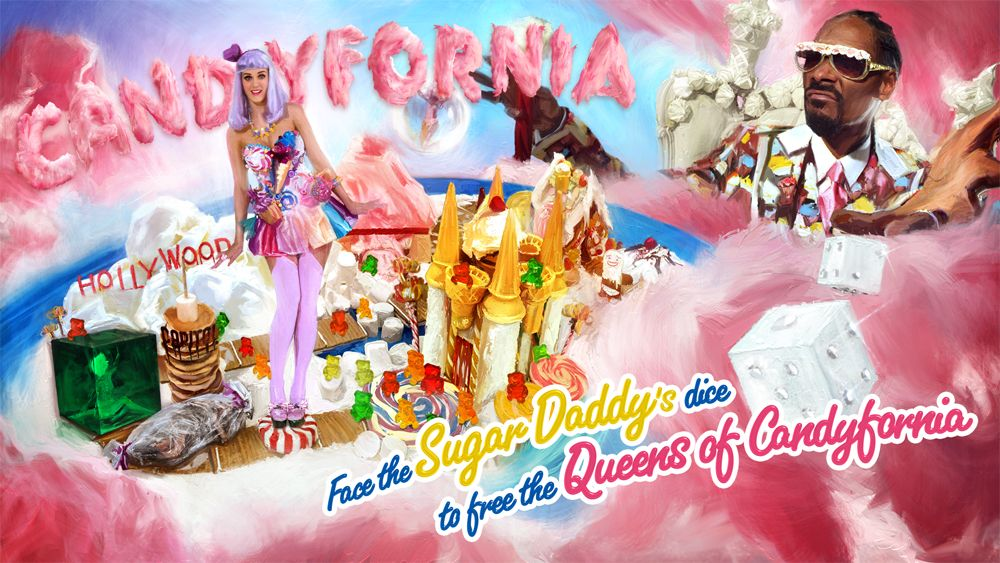 Candyland, Katy Perry, Iconic Women