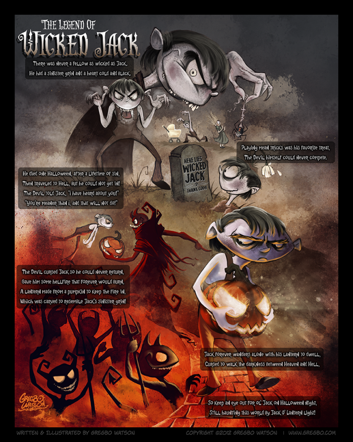 How Did Halloween Get Its Name | My Take On One Of The Classic Jack Tales Its The Story Of How The