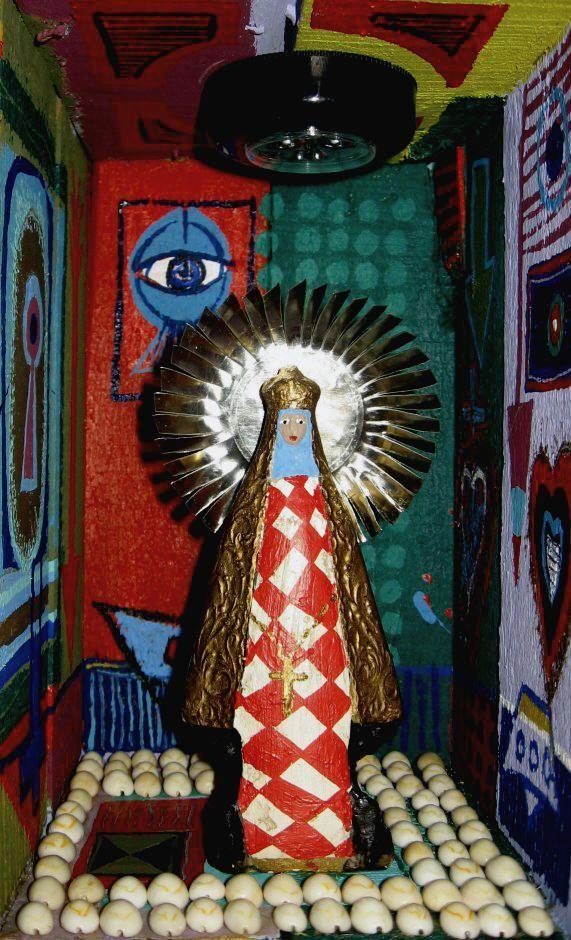 La Madre..?  - Técnica Mixta- 29x17x17cm- 2011